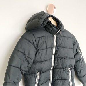 H&M Padded Hooded Jacket Coat